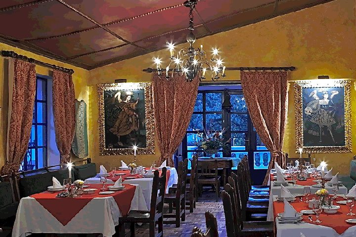 Hacienda Cusin | Restaurant