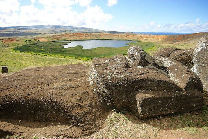 Rano Raraku Volcano, Easter Island