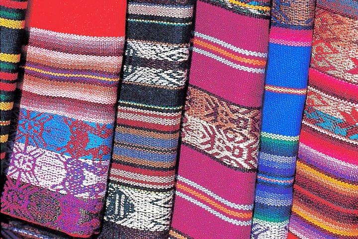 Textiles, Otavalo Market, Ecuador