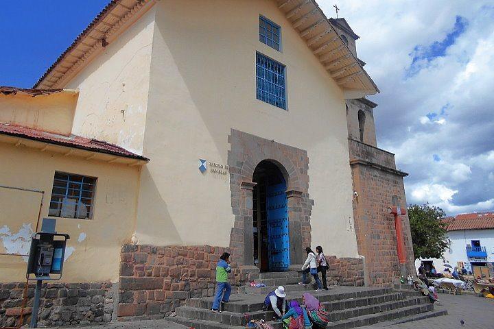 Iglesia San Blas, Cusco, Peru