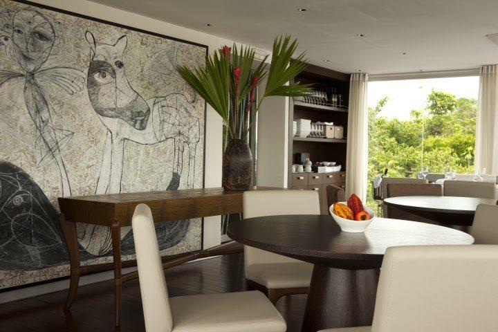 Aria Amazon, Dining Room