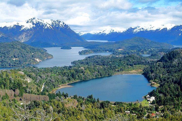 Viewpoint from Cerro Campanario, Bariloche, Argentina