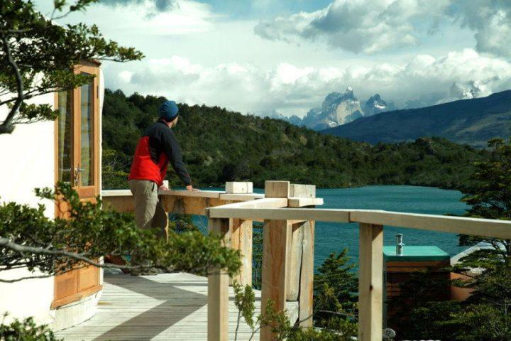 Patagonia Camp | Yurt Private Terrace