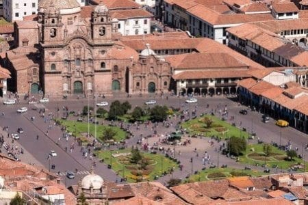 Peru Weather - Plaza Mayor, Cusco