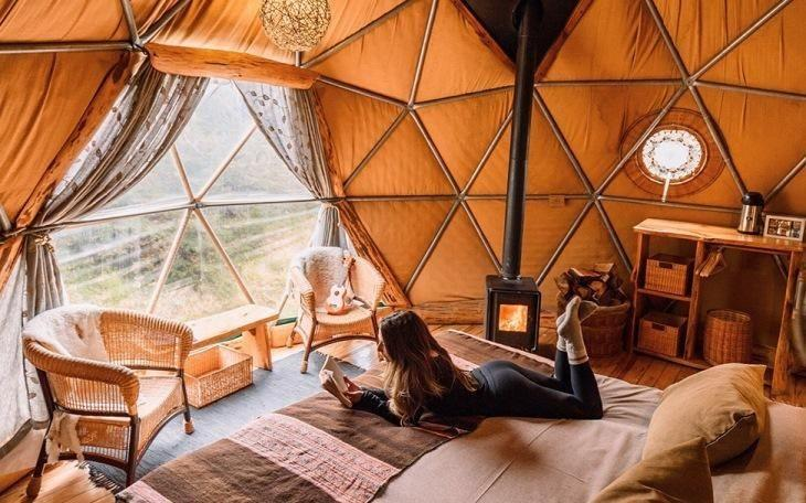 EcoCamp Patagonia | Suite Dome