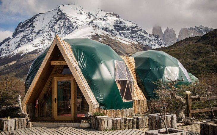EcoCamp Patagonia | Welcome Dome and Gift Shop