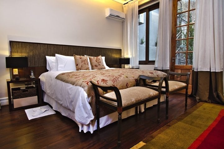 Lastarria Boutique Hotel | Deluxe Garden View Room