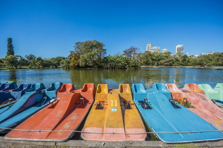 Colorful Boats, Bosques de Palermo, Buenos Aires, Argentina
