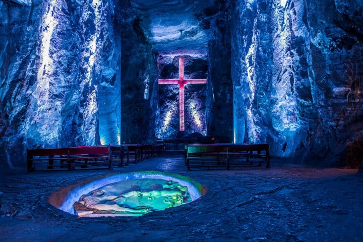 Zipaquira Salt Cathedral, Bogota, Colombia