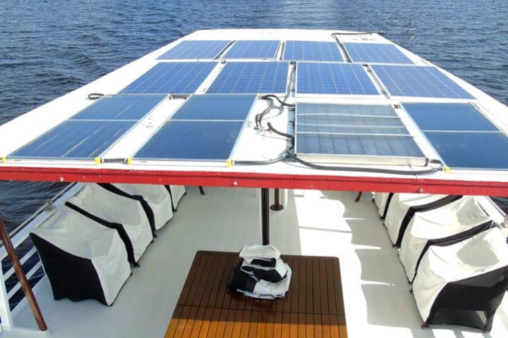 M/Y Tucano | Solar Panels