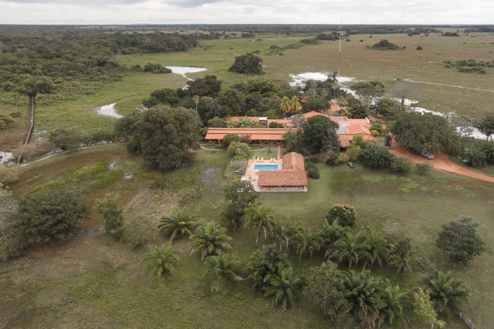 Araras Pantanal Eco Lodge | Aerial View