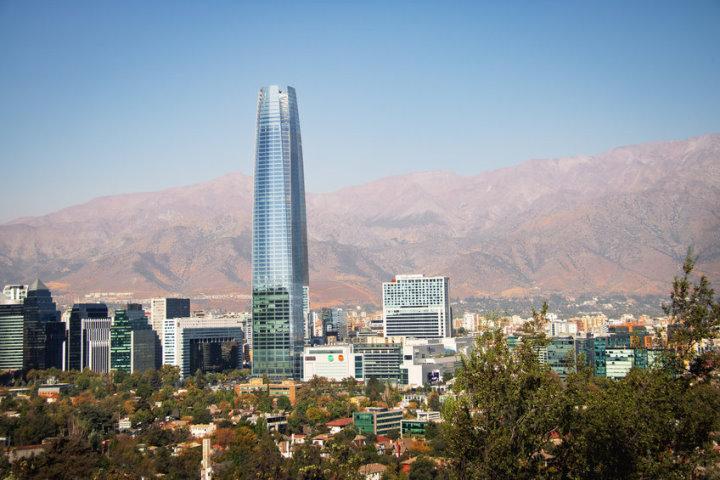 Costanera Skyscraper, Providencia, Santiago